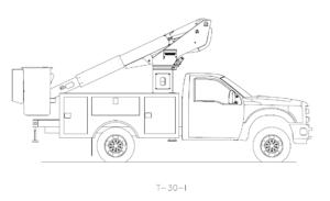 Bucket Truck T-30-I