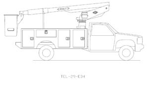 Bucket Truck TEL-29-EIH