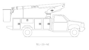 Bucket Truck TEL-29-NE