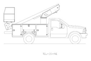 Bucket Truck TEL-35-NE
