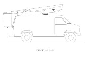 Bucket Truck VANTEL-29-N