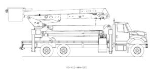 Bucket Truck VO-452-MHI-E85