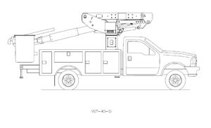 Bucket Truck VST-40-SI