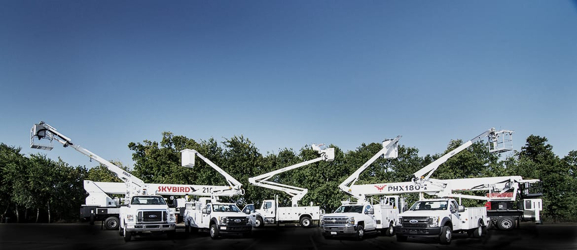 bucket trucks explore service