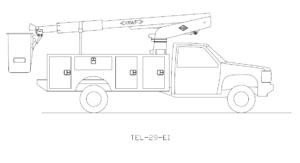Bucket Truck TEL-29-EI