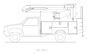 Bucket Truck VO-29-I
