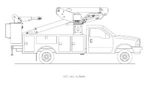 Bucket Truck VST-40-N-MNH
