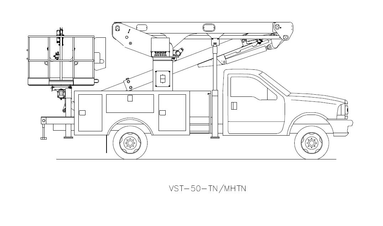 Bucket Truck VST-50-TN-MNTH