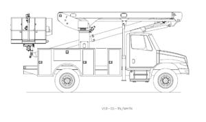 Bucket Truck VST-55-TN-MHTN