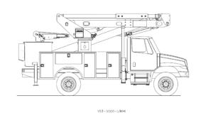 Bucket Truck VST-5500-I-MHI
