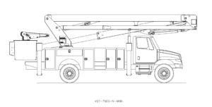 Bucket Truck VST-7500-N-MHN