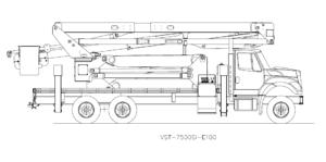 Bucket Truck VST-7500SI-E100