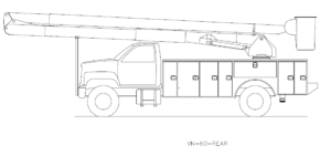 Bucket Truck VN-60-REAR