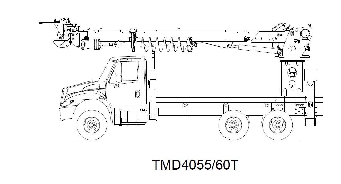 Digger Derrick TMD4055-60T